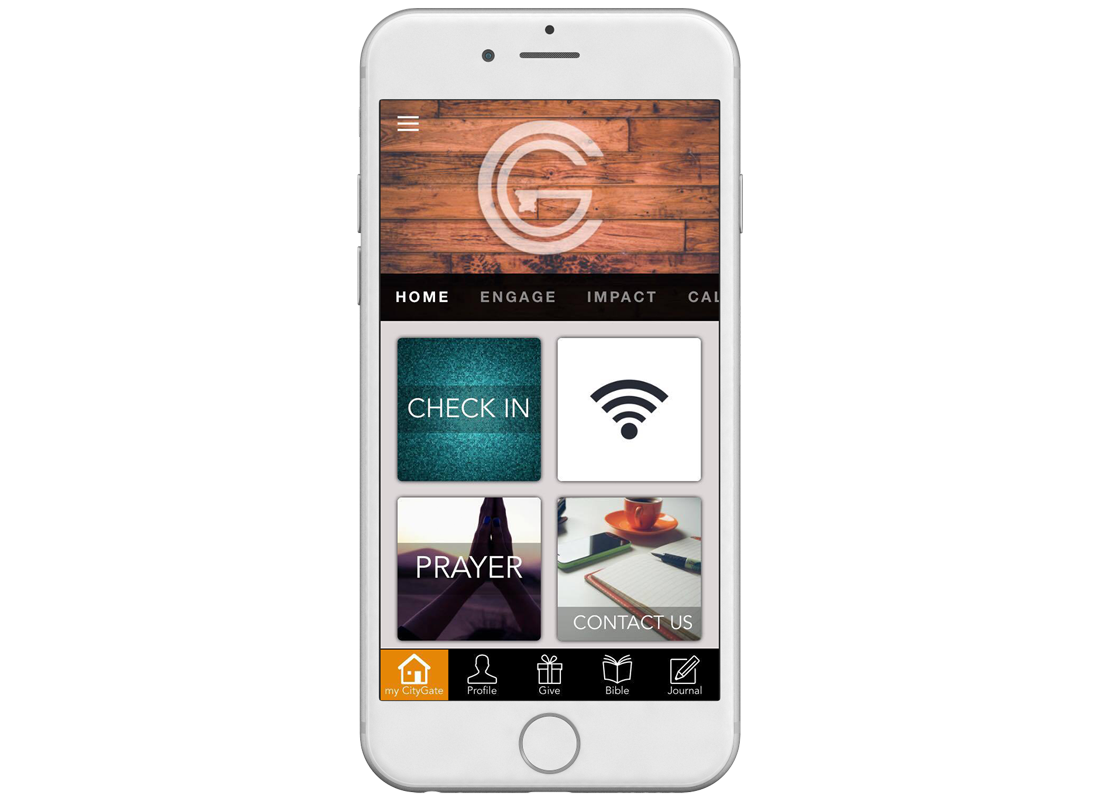 Citygate Ministries iPhone Mobile App