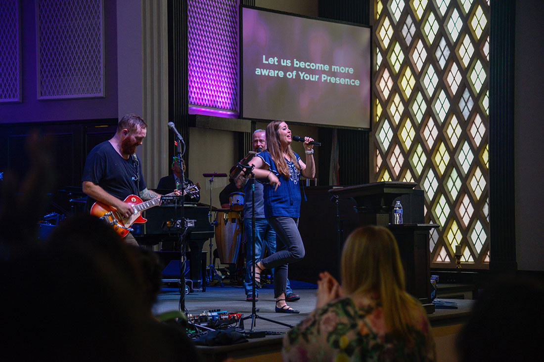 Live Stream Music Performance during a Citygate Sermon